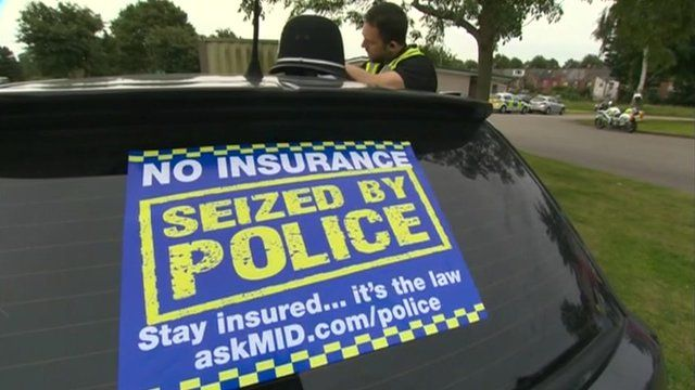Police impounded car insurance auto rates